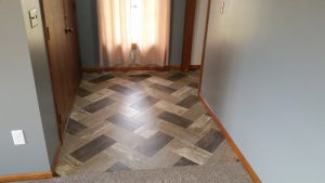 Entry Way LVT | Brandt Carpet and Tile