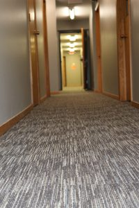 Friend Christian Assembly Hallway carpet | Brandt Carpet and Tile