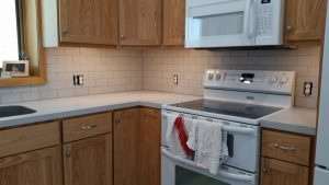 Kitchen - Backsplash Subway view | Brandt Carpet and Tile