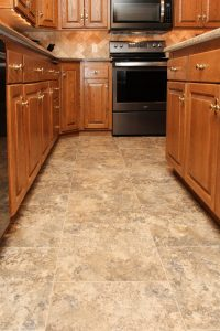 Kitchen Luxury Vinyl Tile | Brandt Carpet and Tile