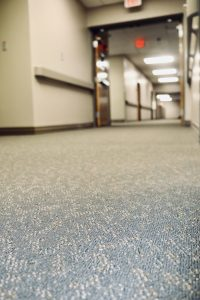 Warren Memorial Hospital Hallway | Brandt Carpet and Tile
