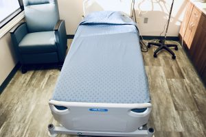 Patient room flooring | Brandt Carpet and Tile