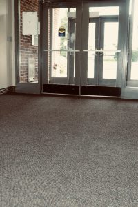 Warren Memorial Hospital Entryway | Brandt Carpet and Tile