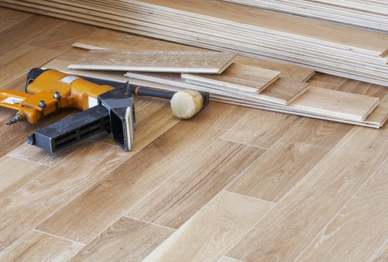 Hardwood installation | Brandt Carpet and Tile
