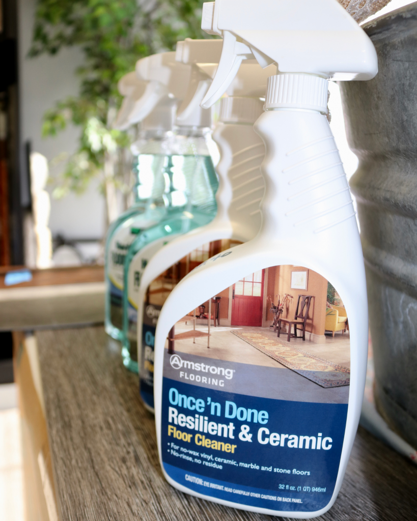 Luxury Vinyl Flooring cleaner | Brandt Carpet and Tile